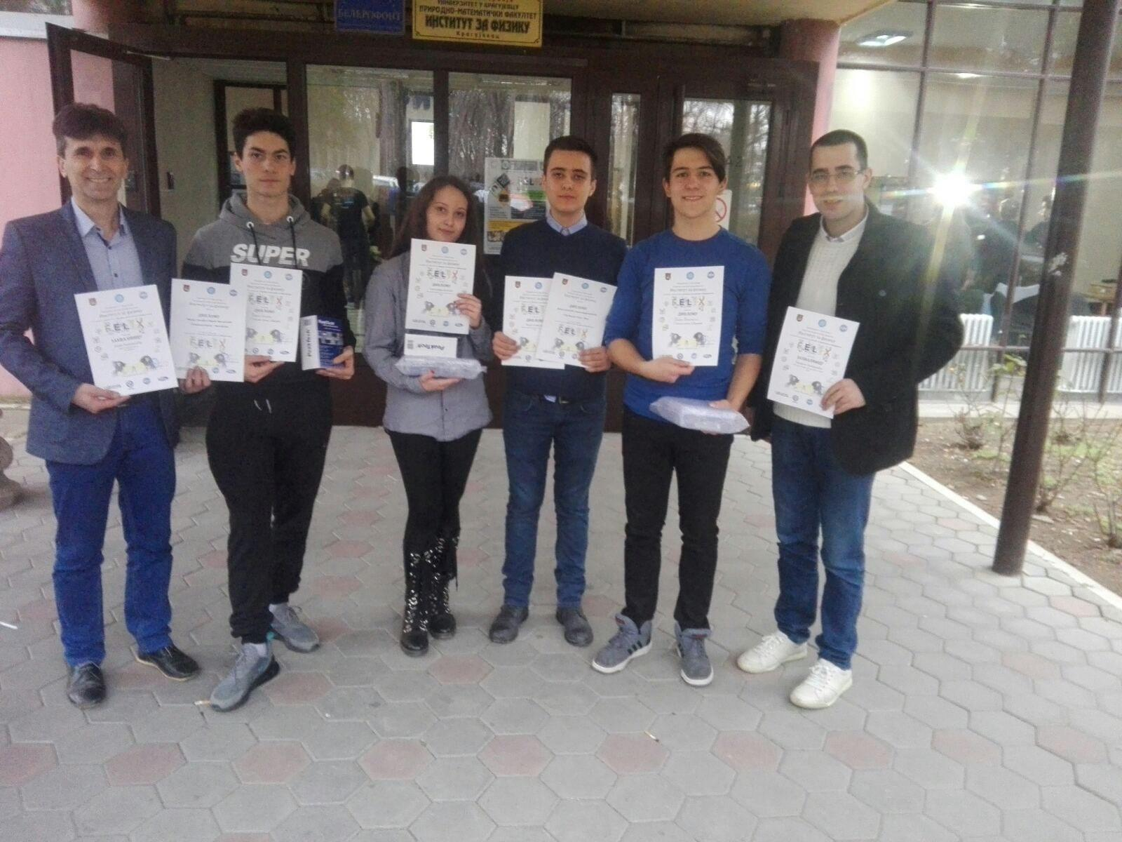Ученици Прве техничке школе освојили трећу награду на такмичењу FELIX